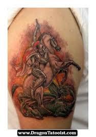 st george tattoo ideas