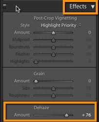 Image result for dehaze lightroom