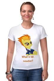 Футболка Стрэйч <b>Spitfire</b> #794438 – заказать женские футболки с ...