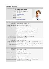 resume help pdf resume in europe