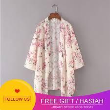 HOT SALE   Feitong Women Boho Print Chiffon Loose Kimono ...