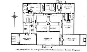 Perfect spanish style house plans   interior courtyard VX    Perfect spanish style house plans   interior courtyard VX