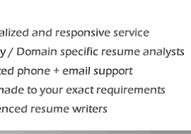 Resume Builder  among the best CV writing service in India  Tier       iSource Services