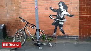 Banksy claims Nottingham hula-hooping <b>girl artwork</b> - BBC News