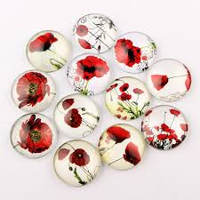 onwear mixed mandala flower photo square glass cabochon 12mm 20mm 25mm diy handmade flatback jewelry making findings