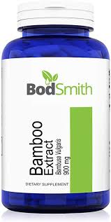 Bamboo Extract 900mg Max Strength 180ct for Hair ... - Amazon.com