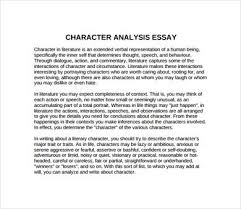 character analysis essay format character analysis examples