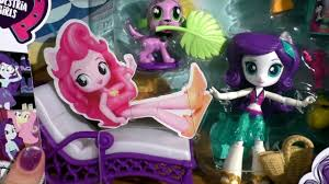 Обзор My Little Pony <b>Equestria Girls</b> Игровой <b>набор</b> с Rarity. <b>Мини</b> ...