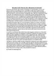 Persuasive essay cell phones in school Essay