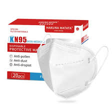 <b>KN95</b> 3D Folded DiSposable Five-layer Protective <b>Mask 20Pcs</b>