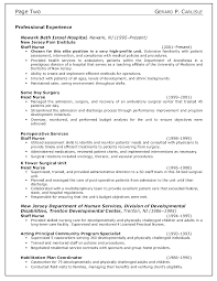 doc nurse resume example com sample nurse resume charge sample examples good rn samples cover