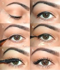 how to do cat eye makeup with tape the easiest way apply a eyeliner