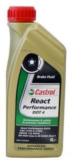 Купить Тормозная жидкость Castrol React Performance DOT 4 1 л ...