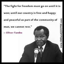 Oliver Tambo Quotes. QuotesGram