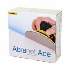 Mirka Abranet Ace <b>150mm P180</b> Velour Disc (Box 50)   Sanding ...