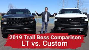 2019 Silverado Custom Trailboss vs LT Trailboss - Explained ...