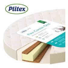 <b>Матрас Plitex</b> (<b>Плитекс</b>) <b>Flex</b> Cotton Oval 1250х750х100 мм ...