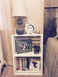 ideas bedside tables pinterest night:  nightstand ideas for your bedroom best of diy ideas
