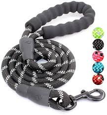 5 FT <b>Strong Dog</b> Leash with Comfortable Padded Handle and ...