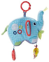Подвесная <b>игрушка Fisher</b>-<b>Price</b> Слоник (DYF88) — купить по ...