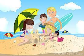 Resultado de imagen para vacaciones caricatura