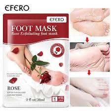 <b>EFERO 2pcs</b>=<b>1pair</b> Exfoliating <b>Foot</b> Peeling Mask Dead Skin ...