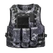 USMC <b>Airsoft Military Tactical Vest</b> Molle Combat Assault Plate ...