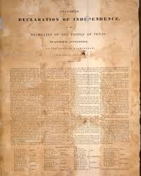texas declaration of independence the handbook of texas online texas declaration of independence
