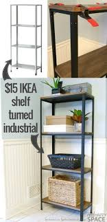 ikea furniture transformations love the diy coffee table and the industrial shelving best ikea furniture