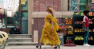 Beyonce <b>Lemonade</b> Yellow <b>Dress</b> Oshun Roberto Cavalli