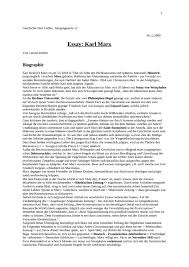 karl marx essays personal experiences essay this philosophy essay and over 84 000 other research documents
