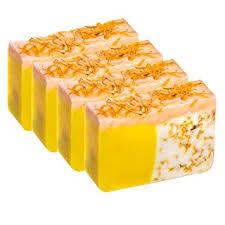 Orange Soap with Calendula Oil (SET of 4 ... - Amazon.com
