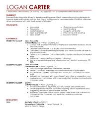 unforgettable sales associate level resume examples to stand out    sales associate level resume sample
