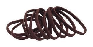 <b>Гурмандиз Набор резинок</b> для волос 10 Коричневый – купить по ...