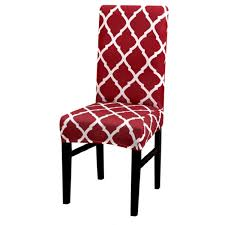 Stretchable <b>Dining Chair</b> Cover for Kitchen Stools with Lock Buckles ...