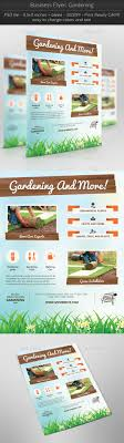 business flyer gardening by thefaint graphicriver business flyer gardening flyers print templates
