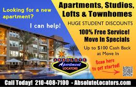 absolute apartment locators apartments for rent san antonio apartment locators ab flyer jpeg