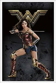 Trends International Justice League - Wonder Woman ... - Amazon.com