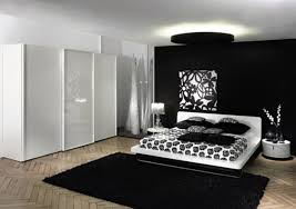 awesome interior master bedroom ideas modern featuring white gloss finish wood wardrobe and executive queen bed black white style modern bedroom silver
