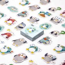 45Pcs/set <b>kawaii</b> Stationery sticker <b>cute pink Pig</b> pattern <b>diary</b> office ...