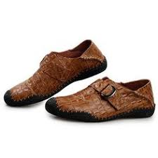 <b>British</b> Style Men Casual Shoes <b>Genuine</b> Leather Slip On Shoes ...