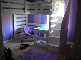 image of bunk bed with stairs and desk storage bunk beds stairs desk