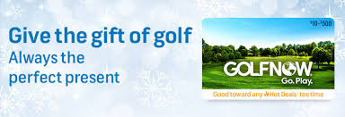 GolfNow Gift Cards are the Perfect Gift this Season - Golf Blog, Golf ...