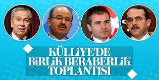 Erdoğan Külliye'de AK Partili eski vekillerle buluştu