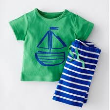 039 (<b>5Pcs</b>/<b>lot</b>) Baby <b>Boy</b> Clothing Suit Fashion Infant Cotton Clothes ...