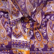 Приталенная женская <b>рубашка</b> с рисунком <b>огурцы</b> - 806