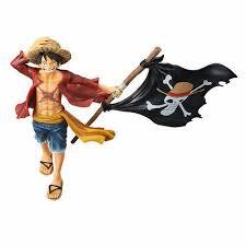 <b>Фигурка One Piece</b> - Monkey D. Luffy    Луффи с флагом – купить ...