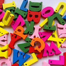 LiveCity <b>100 Pcs</b> Mixed A-Z Alphabet <b>Wooden</b> Letters Button DIY ...