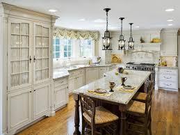 chic bistro kitchen table