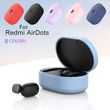 8 Colors <b>Silicone</b> Protective <b>Cover Earphone Case For</b> Xiaomi ...